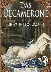 E-Book-Cover Das Decamerone