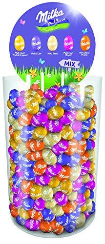 Milka – Tubo Petits Œufs – Chocolat au Lait du Pays Alpin – Format Économique – Pour la Chasse aux Œufs à Pâques – 3kg