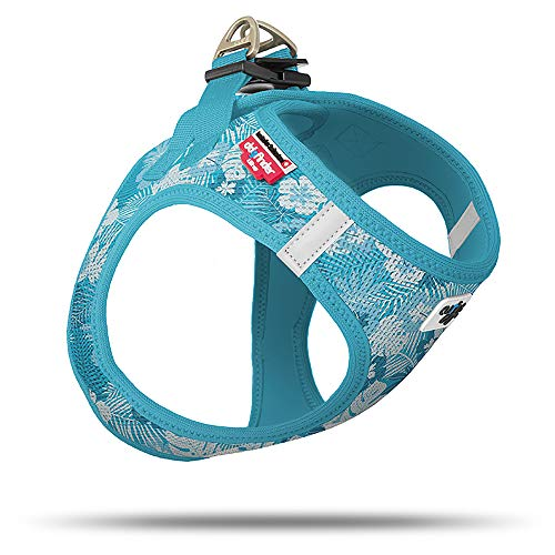 Curli Vest Geschirr Air-Mesh Aloha Ocean Special Edition SE19 SE-AO Größe M von mylittledog
