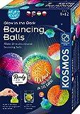 KOSMOS-Fun Science-Nachtleuchtende Flummi-Power CREA 20 Pelotas de Colores Brillantes Juego de experimentos para niños. (616663)