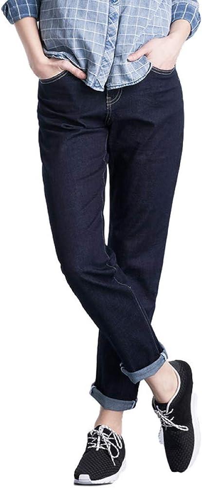 Jeans Plus New product!! Size S 6XL Prublish Selling Denim W Boyfriend Blue Washed Mid