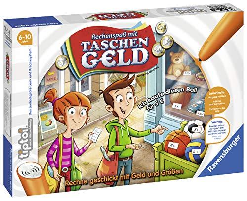 """Ravensburger tiptoi 00779 - \""""Rechenspaß mit Taschengeld\"""" / Spiel von Ravensburger ab 6 Jahren / Rechne geschickt mit Geld und Größen"""