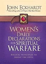 spiritual warfare declarations
