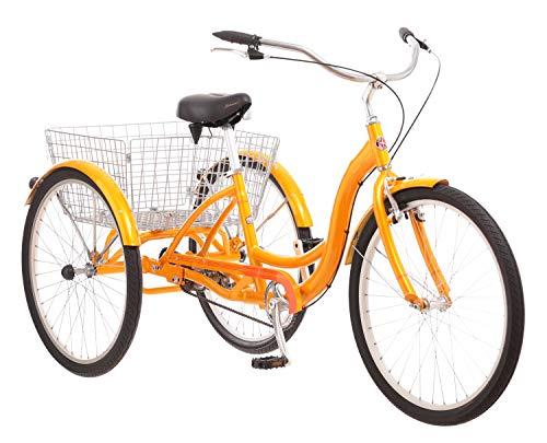 Meridian Adult Schwinn Tricycle Three (3) Wheeled Trike Men's Women's Bicycle Red Mint Green Blue...
