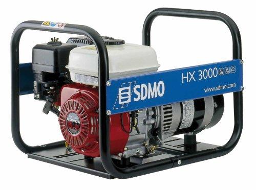 SDMO 620X3 - Benzin Elektrogenerator 3,75 kva
