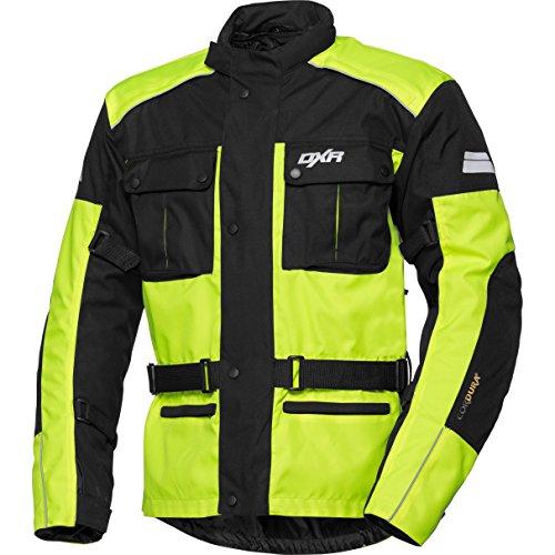 DXR Motorfietsjasje met beschermers Motorfietsjasje Tour textieljas 2.0, heren, toerist, het hele jaar door, textiel