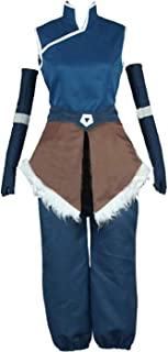 Anime Avatar The Legend of Korra Cosplay Halloween Costumes Custom