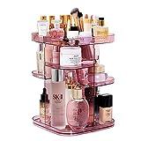 Maquillage organisateur Acrylique robuste à rotation douce 360 ° (vitrine de rangement for cosmétiques) - Convient for les tables à langer, les chambres à coucher, les salles de bain
