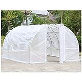 yilanjun serra da giardino per piante a tunnel in pe, per dentro fuori piante erba e fiori