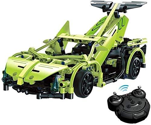 Zhangl Kits modelo creativas control remoto Car Electronics Kit de juguetes con luces de trabajo de 2,4 GHz Kits de construcción Creación de juegos su propio regalo de Pascua controlado de radio del c