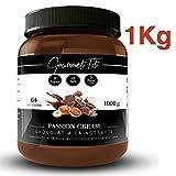 Crema de Cacao y Avellanas Hiperproteica sin Azucares ni grasas saturadas - Sin aceite de palma - formato 1KG Increíble Sabor (Avellanas)
