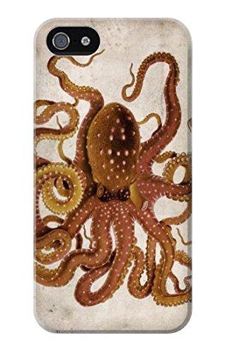 Vintage Octopus Case Cover Custodia per IPHONE 5 5S SE