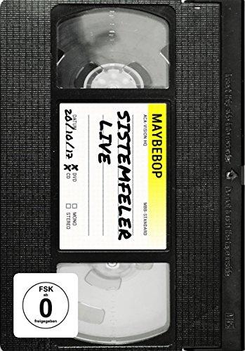 Maybebop - Sistemfeler Live (+ CD) [2 DVDs]