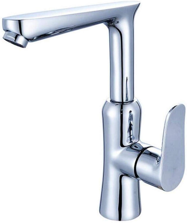Faucet Lead-Free Square Innovationfaucet Wash Basin Single Hole