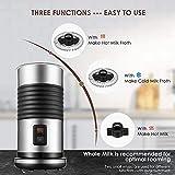 Zoom IMG-1 montalatte elettrico cappuccino automatico in