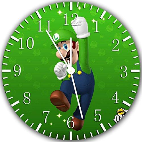 Luigi 25.40 Wanduhr Wohnzimmer und wird cm Wanddekoration Z81 Geschenk