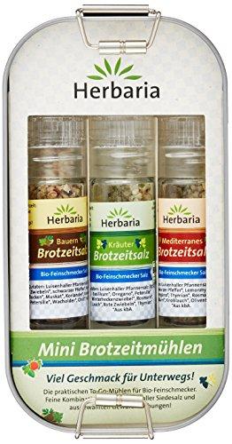 Herbaria Lunchbox Bio 3 Mini-Brotzeitmühlen, 1er Pack (1 x 45 g)
