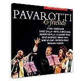 Richard Noel Marx's Album-Cover – Pavarotti & Friends