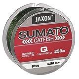Jaxon Geflochtene Schnur SUMATO Catfish Wels Wallerschnur Braided Line 250m (0,09€/m) (0,40mm/Tragkraft 50kg)