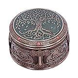 Nemesis Now Tree of Life Box - Caja de almacenaje (10 cm), Color Bronce