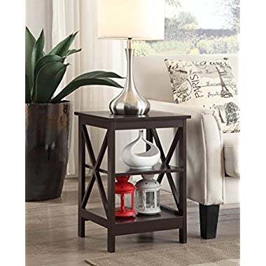Convenience Concepts Oxford End Table, Espresso
