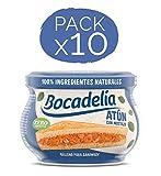 Bocadelia Relleno Sandwich Atún con Mostaza | Relleno Bocadillo, Pack de 10 x 180 gr.
