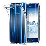 Spigen, Funda Compatible con Honor 9 [Liquid Crystal] Protección Delgada de Gel Silicona y claridad Premium de TPU [Compatible con Carga Inalámbrica] - [Trasparente]