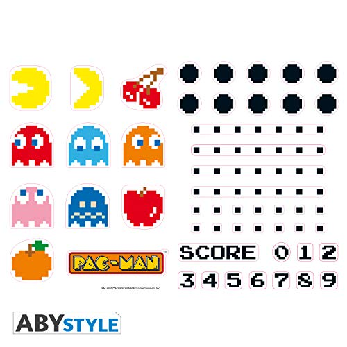 ABYstyle - PAC-MAN - Stickers - 50x70cm - Figuren und Labyrinth