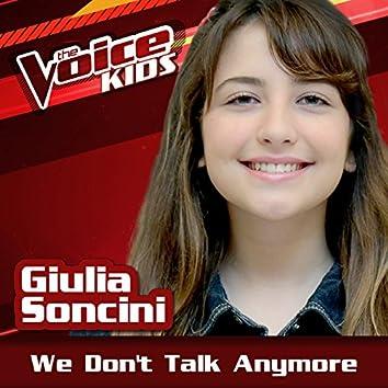 We Don't Talk Anymore (Ao Vivo / The Voice Brasil Kids 2017)