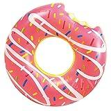 Ardisle - Flotador gigante con forma de donuts. Inflable para piscina, playa y natación