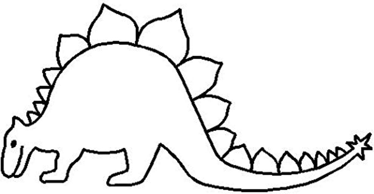 Cheap mail Great interest order shopping Quilting Creations Stegosaurus Stencil 2