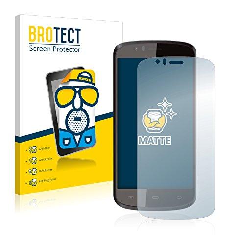 BROTECT 2X Entspiegelungs-Schutzfolie kompatibel mit Archos 50e Helium Bildschirmschutz-Folie Matt, Anti-Reflex, Anti-Fingerprint