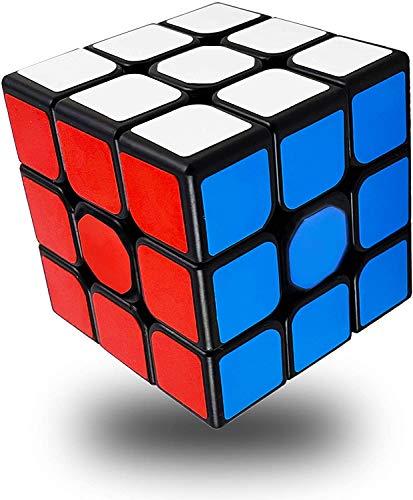 Black Edge Rubik Cube with Frosting Surface Anti Slippery Design 3x3x3 Magic Cube