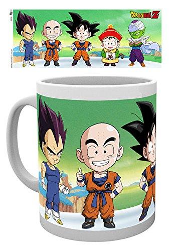 empireposter 717085 Dragon Ball Z – Chibi – Tasse, Ø 8,5 cm, Céramique, Multicolore, 12 x 8 x 9,5 cm