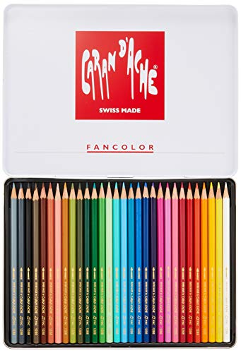 Caran d'Ache - FANCOLOR - 30 Matite morbide acquerellabili - 1288.330
