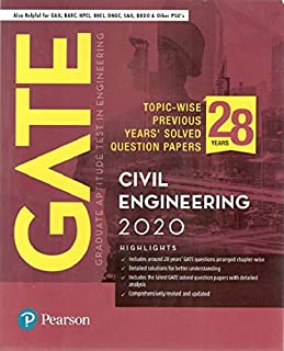 GATE Topic-wise Previous Years' Solved Question Papers Civil Engineering
