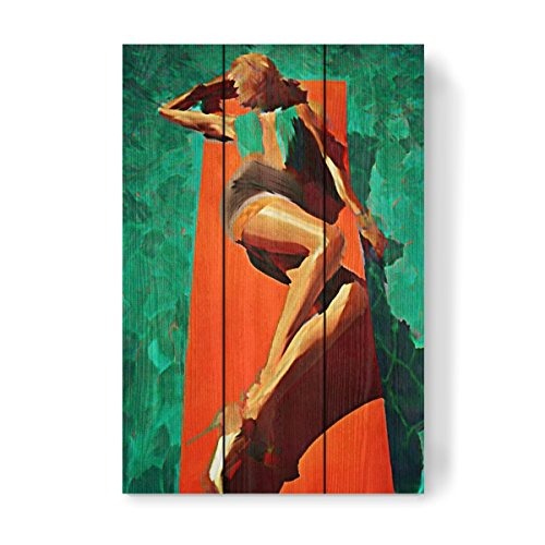 artboxONE Holzbild 45x30 cm Fashion
