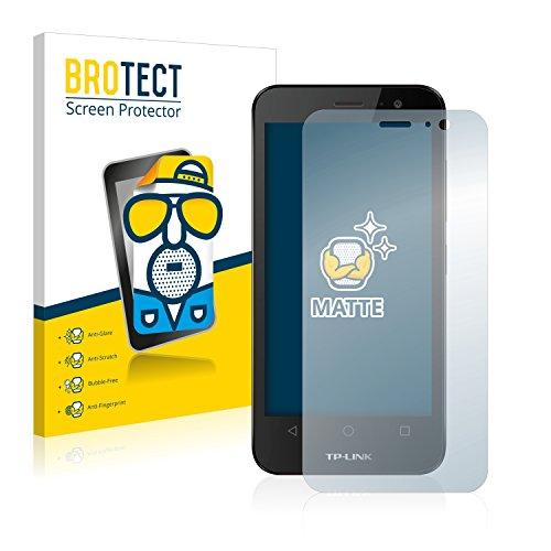 BROTECT 2X Entspiegelungs-Schutzfolie kompatibel mit TP-Link Neffos Y50 Bildschirmschutz-Folie Matt, Anti-Reflex, Anti-Fingerprint