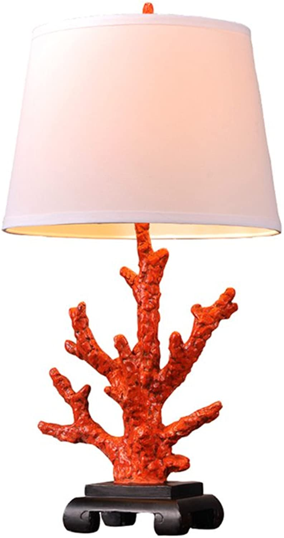 Koralle kreative kreative kreative Mode der Tischlampe der Koralle der Tischlampe der Schlafzimmertischlampe moderne B07H32MBLT     | Clever und praktisch  30996f