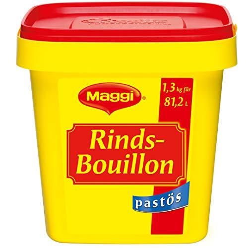 Maggi Rindsbouillon pastös (sofort löslich) 1er Pack (1 x 1,3kg Profi Box)