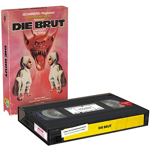 Die Brut (2-Disc VHS-Retro-Edition, Limitiert auf 500 Stück) [Blu-ray]