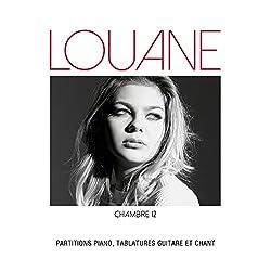 Partitions variété, pop, rock AEDE MUSIC LOUANE - CHAMBRE 12 - PVG TAB Piano voix guitare