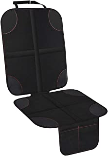 Xboun Car Seat Protector for Child Car Seat, Auto Seat Cover Pad Under Baby Carseat – Waterproof and Dirt Resistant for SUV, Sedan, Truck
