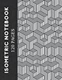 Isometric Notebook: Isometric Graph Paper – Drawing Composition Pad and Technical Workbook – Small Equilateral Triangles Pattern – Perfect for ... and Gaming – 8.5 x 11 inch (120 pages)
