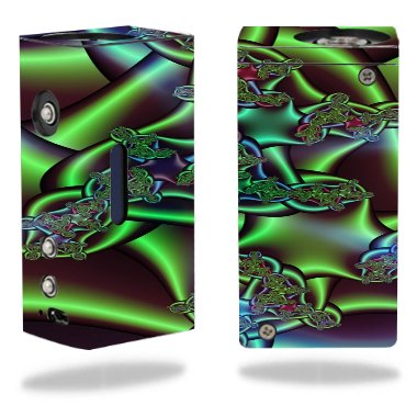 Decal Sticker Skin WRAP Sticker Skin Colored Pipes Printed Design for Hana Modz V4M DNA 40 Mini