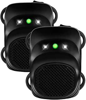Loraffe Under Hood Animal Repeller Car Rat Repeller Rodent Repellent Ultrasonic Mouse Deterrent for 12V 24V Vehicle Automo...