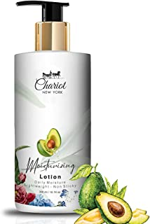 Chariot New York Daily Moisturizing Lotion (Non-Sticky) (Avocado) (300 ml)