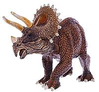 SanDoll 恐竜 トリケラトプス フィギュア リアル 模型 ジュラ紀 30㎝級 爬虫類 迫力 草食 子供玩具 プレゼント ディスプレイ 返品安心保障付き(トリケラトプス)