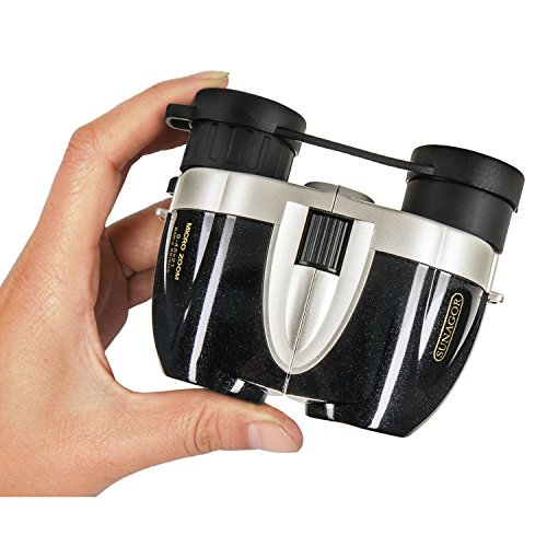 Sunagor 9-45x21 - World's Smallest Zoom Binoculars - Perfect for Bird Watching and Sports - With Carry Case, Cloth, Neck Strap and Lens Caps