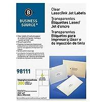 Business Source クリアアドレスラベル (98111)